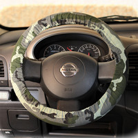 Steering wheel cover for wheel car accessories Army Camouflage Military Wheel cover