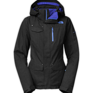 The North Face Women's Jackets & Vests SKIING/SNOWBOARDING WOMEN'S GATEKEEPER THERMOBALL HERRINGBONE JACKET