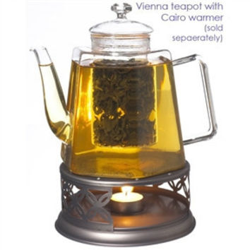 Stove Top Glass Water Boiler Kettle Teapot with Tea Infuser