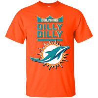 Miami Dolphins : Dilly Dilly : G200 Gildan Ultra Cotton T-Shirt