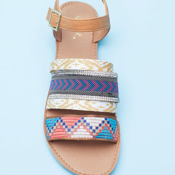 Athena-816AX All Mixed Up Tribal Sandal
