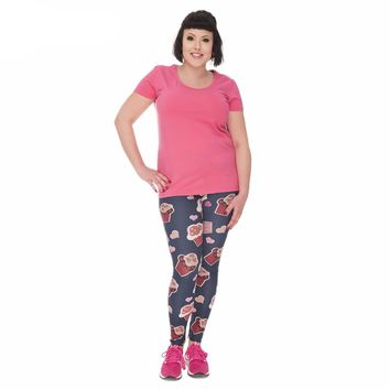 Curvy Sweet Muffin Leggings