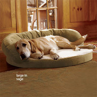 Memory Foam Dog Beds / Bolster Bed with Memory Foam -- Orvis