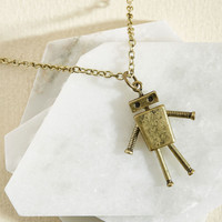 Lost in Bot Necklace