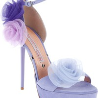Gianmarco Lorenzi Diamante Satin Sandal - $195.00