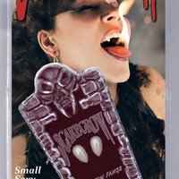 Scarecrow Small Deluxe Custom Fangs white One Size
