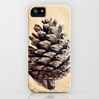 Pinecone iPhone Case by Around the Island (Robin Epstein) | Society6