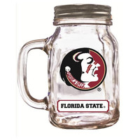 16Oz Mason Jar Florida State Seminoles