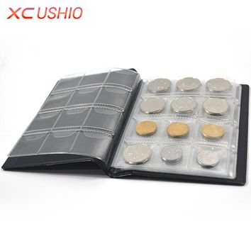 Coin Collection Book Opening Stock 120 Coins Pocket Money Penny Storage Bag Collection Album Collect Coin Album Coin Holder