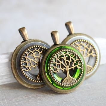 Bhodi tree of life necklace