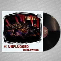 Unplugged In New York Black LP : ORGM : MerchNOW