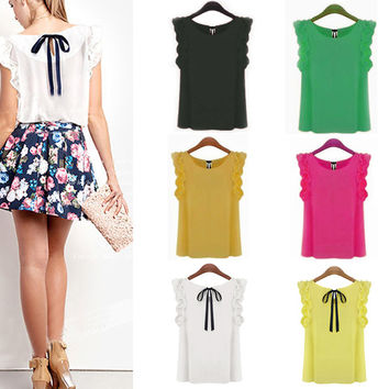 """""""Go To"""" Blouse In A Rainbow Of Colors"""