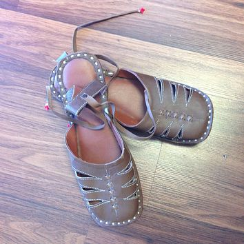 Pure Leather Handcrafted Sandals