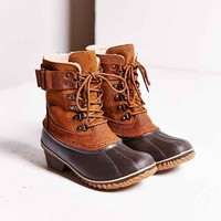 Sorel Winter Fancy Lace-Up Boot- Brown Multi