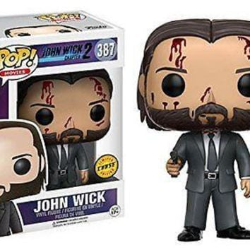 Funko POP Movies: John Wick Chase Exclusive Vinyl Figure