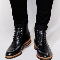 ASOS | ASOS Boots in Leather at ASOS