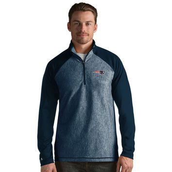 New England Patriots Men's Playmaker Lightweight Jacket-Navy By Antigua