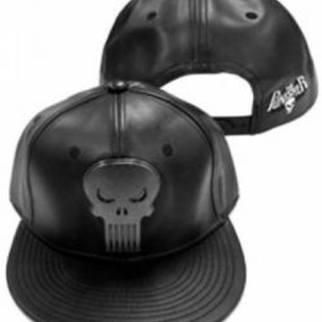 The Punisher Baseball Hat - Heavy Metal