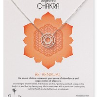 """Dogeared Be Sensual Chakra Necklace, 18"""""""