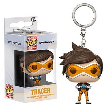 Overwatch Tracer Pocket Pop! Key Chain
