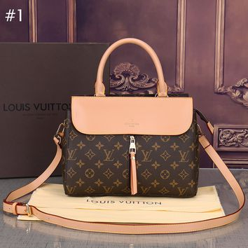 LV Louis Vuitton 2018 new trend fashion handbags leisure tote bag Messenger bag #1