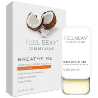 Jimmyjane Feel Sexy Breathe Me Body Scents - Coconut (.28 oz)