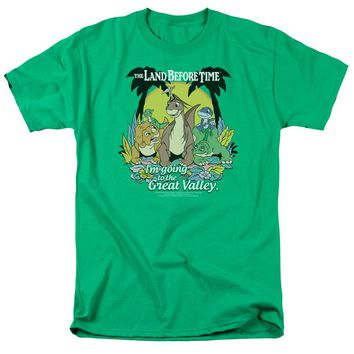 Land Before Time - Great Valley Short Sleeve Adult 18/1