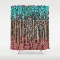 :: Love Overdose :: Shower Curtain by :: GaleStorm Artworks ::