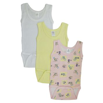 Bambini Girls' Printed Tank Top