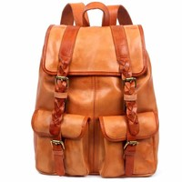 Amy Leather Backpack