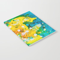 Abstract Painting Notebook by mariameesterart