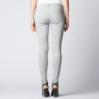 [Low Rise Skinny] Low Rise Ankle Skinny Jeans In Smoke Tencel®