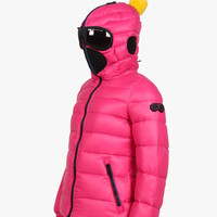 AI Rider On The Storm Girls Down Jacket in Fuchsia/Pink