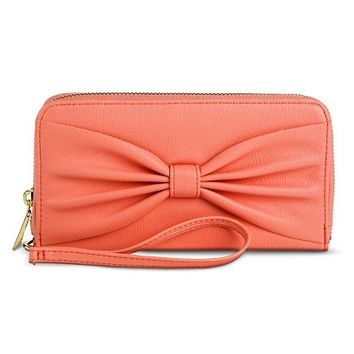 Women's Large Bow Cell Phone Case Wallet