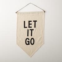 LET IT GO Wall Banner