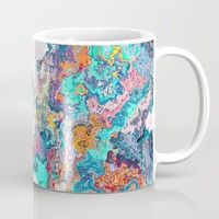 Abstract Marble Coffee Mug by tmarchev
