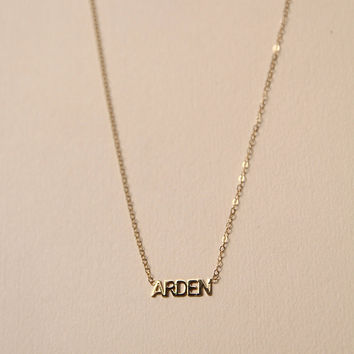 Custom Initial Name Necklace