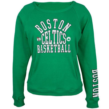 Boston Celtics - Overtime Juniors Crew Neck Sweatshirt