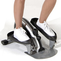 The Hideaway Elliptical Trainer - Hammacher Schlemmer