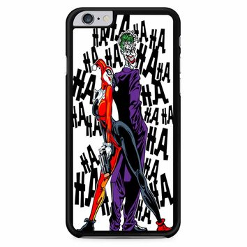 Harley Quinn With Joker 2 iPhone 6 Plus / 6S Plus Case