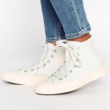 Converse Chuck Ii Hi Trainers With Pastel Mid Sole at asos.com
