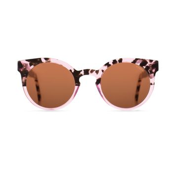 Komono - The Lulu Rose Dust Sunglasses / Scratch Resistant CR-39 Brown Lenses