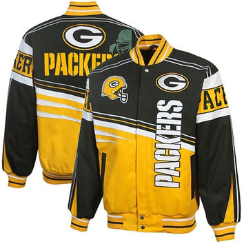 Green Bay Packers First and Ten Jacket
