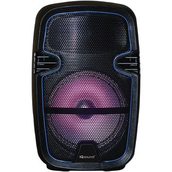 "Iq Sound 8"" Tailgate Party Dj Bluetooth Speaker"