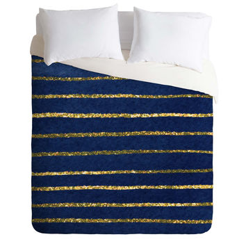 Social Proper Nautical Sparkle Duvet Cover