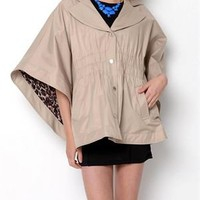 Betsey Johnson Hooded Poncho Coat - Betsey Johnson Spring Outerwear - Modnique.com