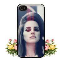 Lana Del Rey iPhone 4 4s 5 Case Cute Hipster for iPhone or Samsung Galaxy S3