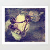 Great mussels from the Atlantic Art Print by Tanja Riedel