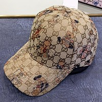GUCCI  New fashion more letter bear couple cap hat