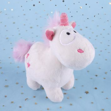 Lovely Unicorn Soft Plush Doll Kids Toys Unicorn Soft Stuffed Animal Baby Dolls INS Doll Toys Gift Pillow Cushion